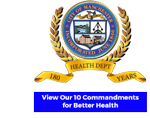 180 Years of Health seal