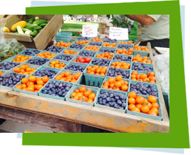 Healthy Fruits at Farmers Market